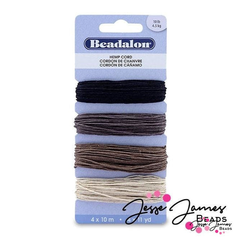 Hemp Cord Variety Color Pack