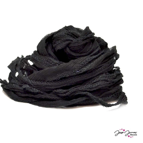 Fairy Silk Cord in Black