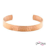 Halstead Copper Hammered Cuff