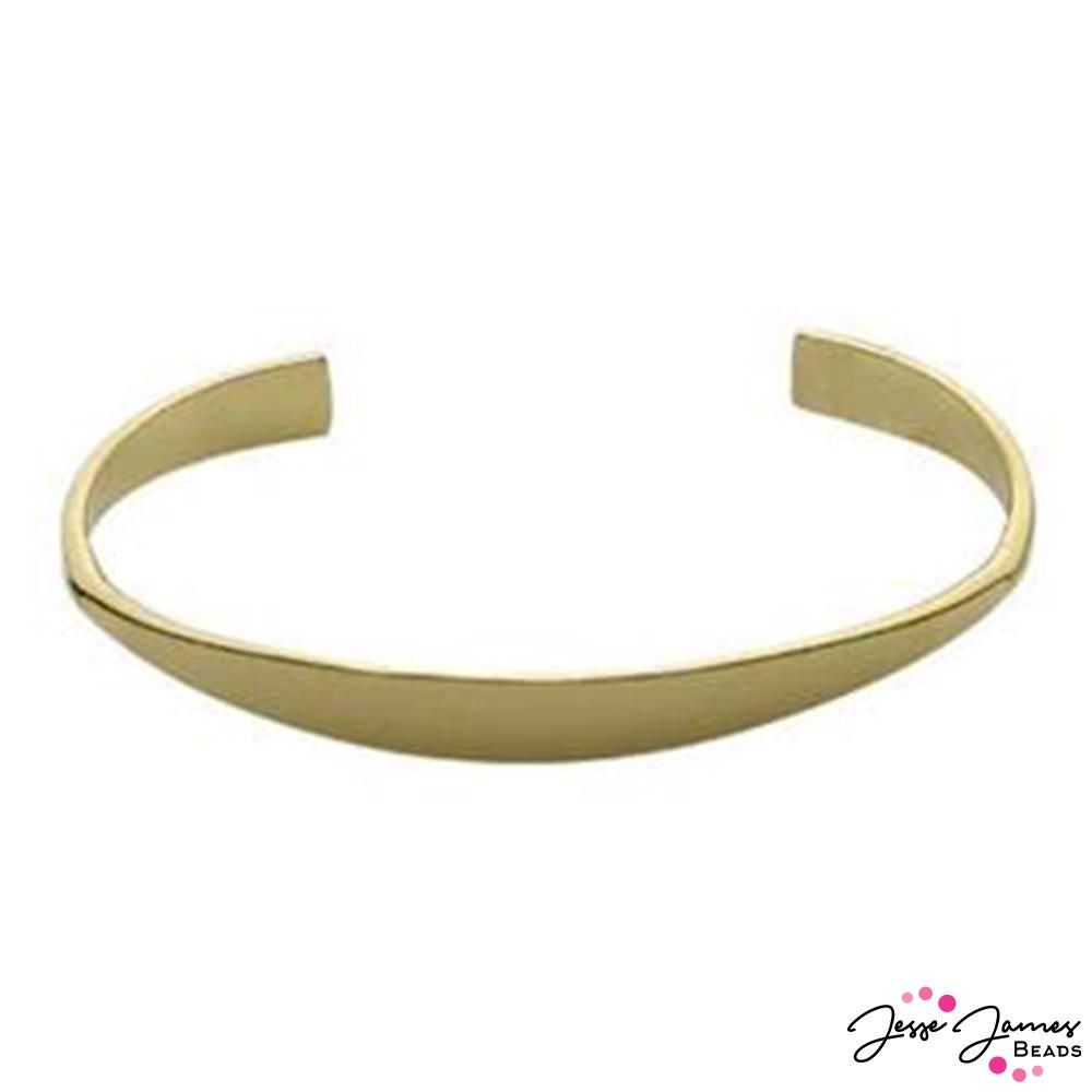 Halstead Tapered Brass Cuff Blank
