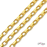 Chain Bright Gold Gangsta Metal