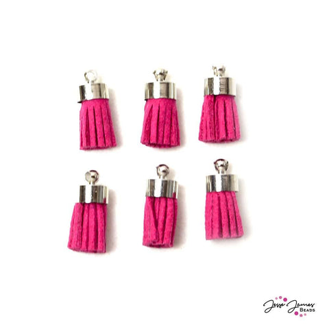 Tassel Set Bright Pink