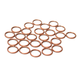 8 mm Copper Jump Rings