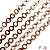 Washer Chain in Copper