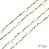 Casanova Crystal Beaded Chain