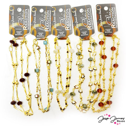 JJB Chain Reaction 5-Pack Bundle in Gold