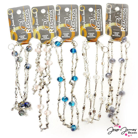 JJB Chain Reaction 5-Pack Bundle in Silver