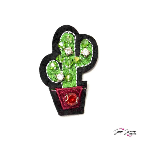 Charming Christmas Cactus Patch