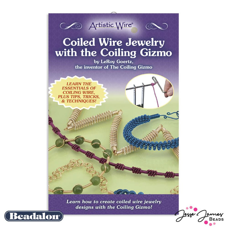 Coiled Wire Jewelry With The Coiling Gizmo, by LeRoy Goertz