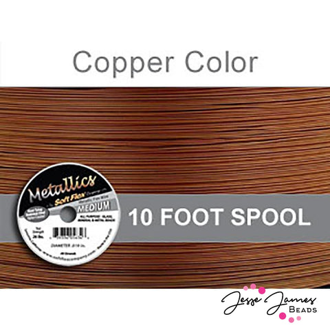 Copper Color Soft Flex Wire