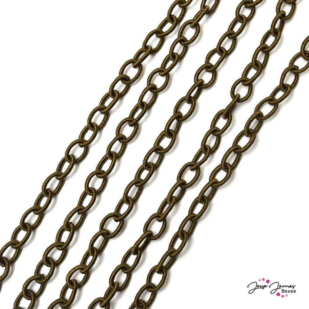 Dark Brown Fiber Chain