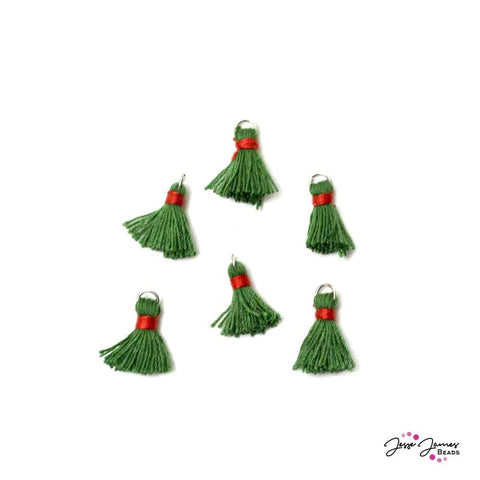 Tassel Set Deck The Halls Green