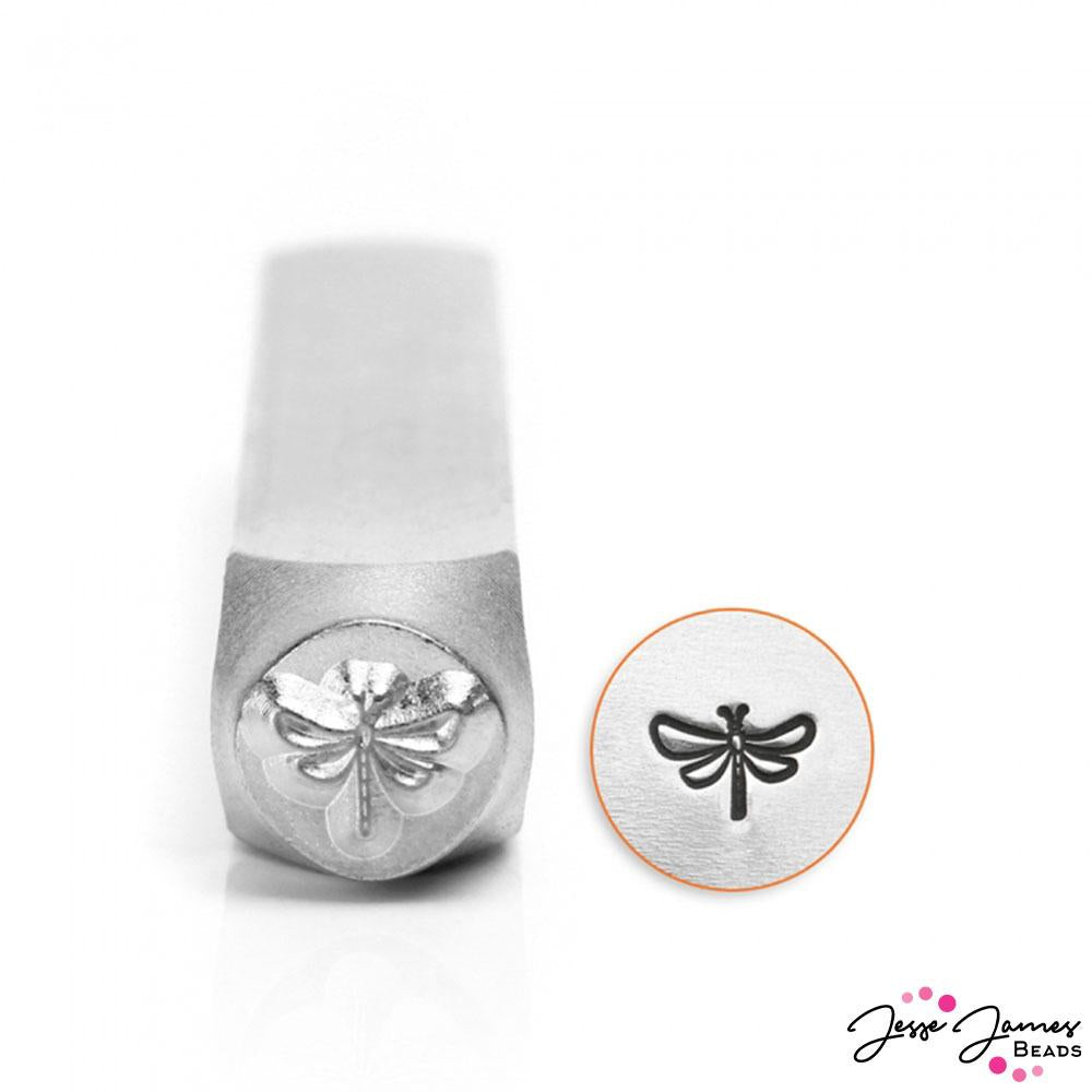 Design Stamp in Dragon Fly 6mm