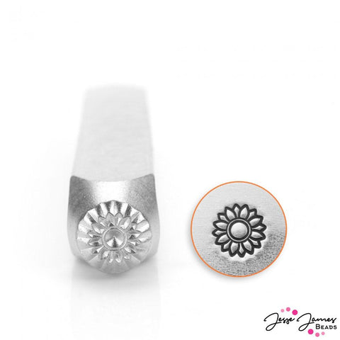 Design Stamp in Sunflower 6mm
