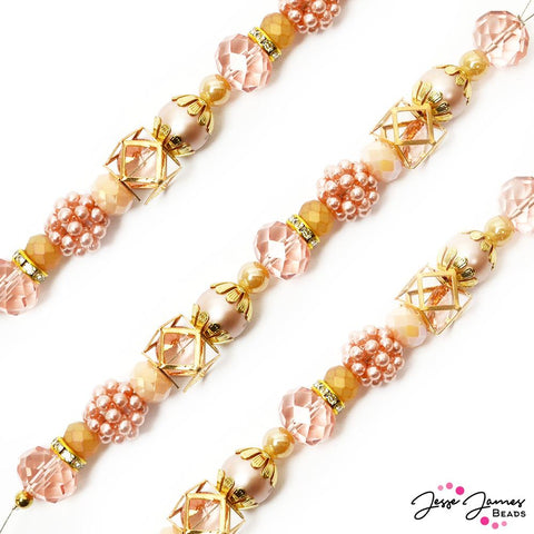 Designed By Me Bead Strand in Caliente Coral