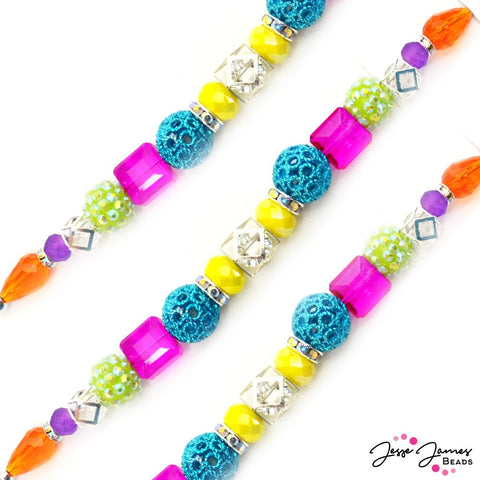 Designed By Me Bead Strand in Multi-Color Splash