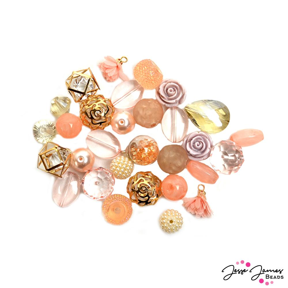 Designed By Me Inspiration Bead Mix in Coral