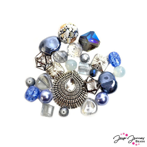 Designed By Me Inspiration Bead Mix in Grey