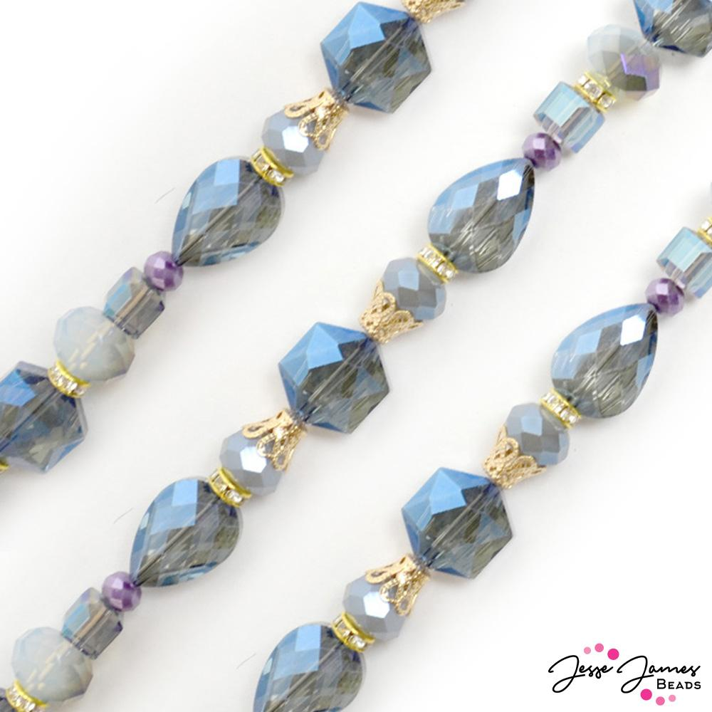 Designed By Me Bead Strand in Oceanic Lilac