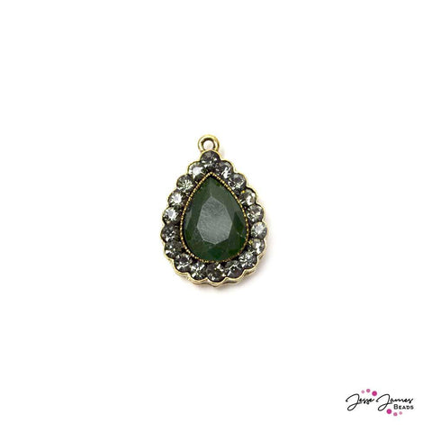 Pendant Fancy Green & Gold