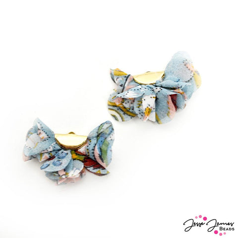Floral Cha Cha Tassel Pair in Singing In The Rain