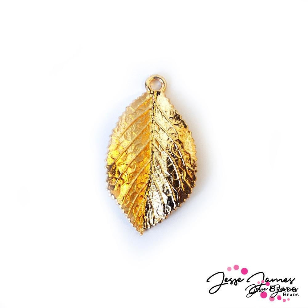 Leaf Gold Pendant