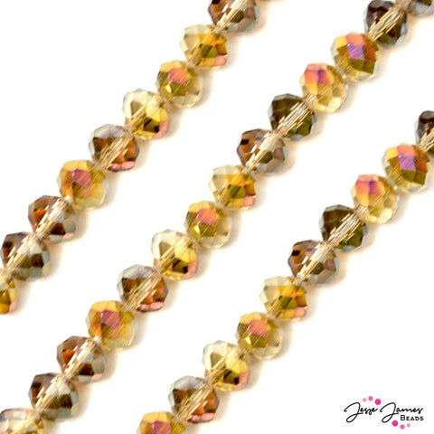 Bead Set in Griffin Gold 10MM Chichi Glass