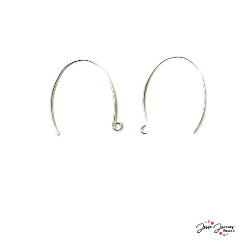 Halstead 20 Guage Large Oval Earring Wires