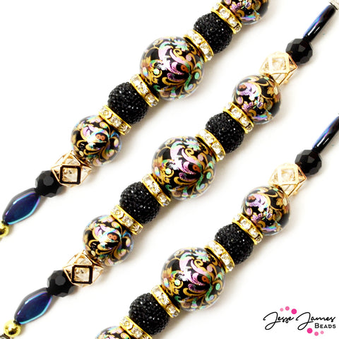 Bead Strand Japanese Tensha Shorty Holographic Haze