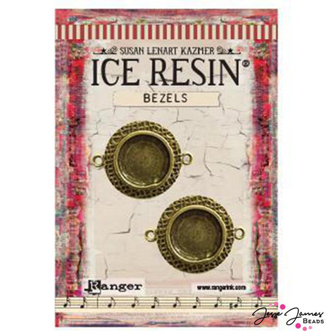 ICE Resin® Antique Bronze Circle Bezels