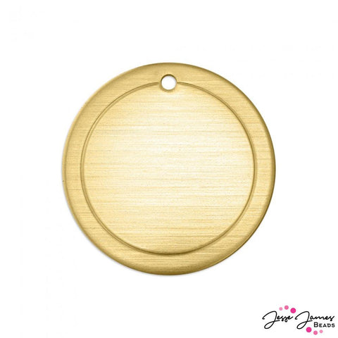 ImpressArt Border Circle Set in Brass