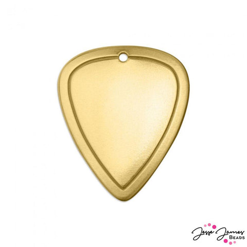 ImpressArt Guitar Pick Border Set in Brass