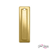 Impress Art Rectangle Border Set in Brass