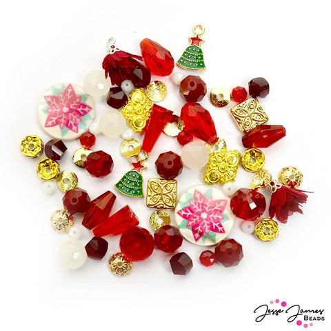 JJB Holiday Bead Mix in I'll Be Home For Christmas