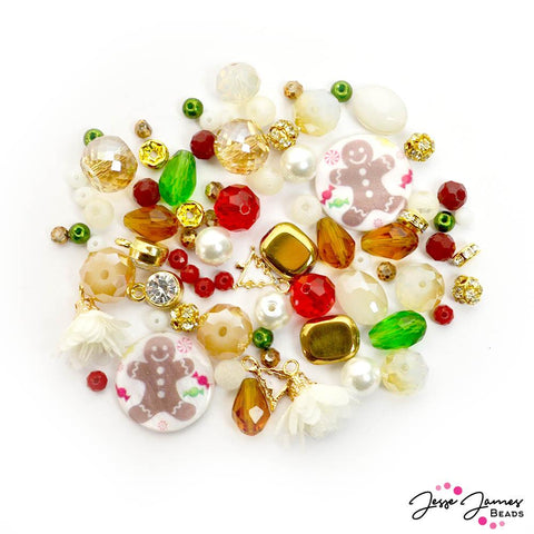JJB Holiday Bead Mix in Sugar Rush