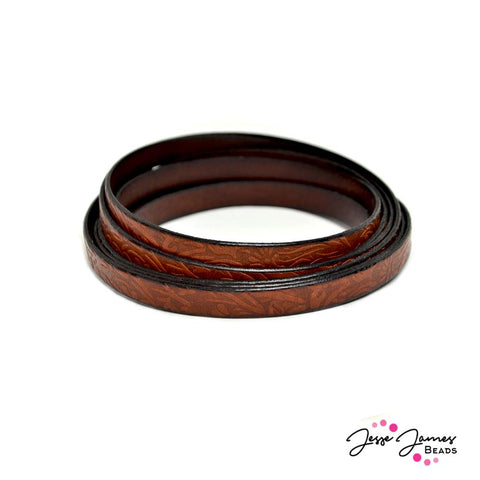 Leather Cord in Mustang Brown