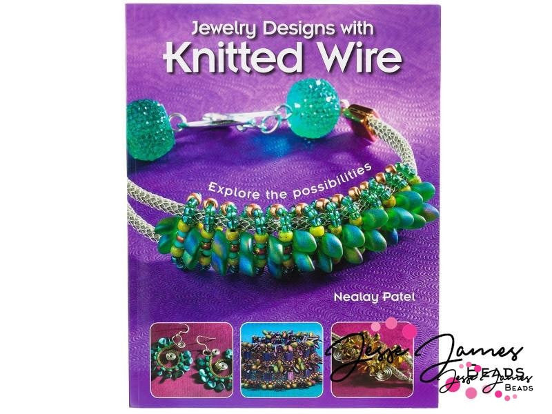 Jewelry Designs with Knitted Wire Book by Nealay Patel