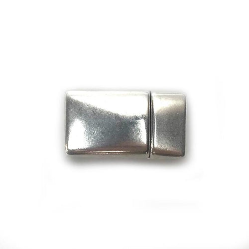 Antique Silver Magnetic Glue In Clasp