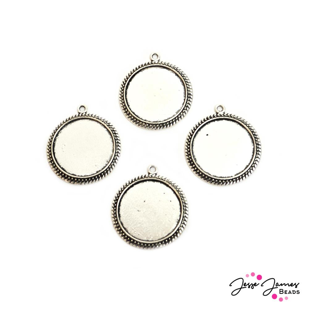 Metal Bezel Set of 4