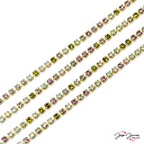 Cup Chain Preciosa Multicolored Silky