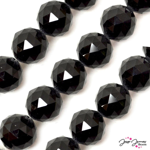 New Bead Set in Moon Black 20MM Big Boy Chichi Glass