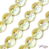 Omnipotent Crystal AB 20MM Big Boy Glass Bead Set