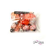 Peach Pink Inspiration Bead Mix