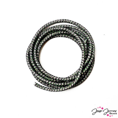 SilverSilk Pearlesque Chain in Black