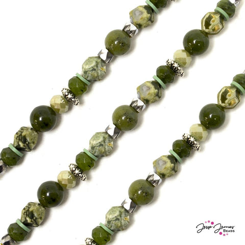 Perfectly Jaded Dakota Stones Bead Strand