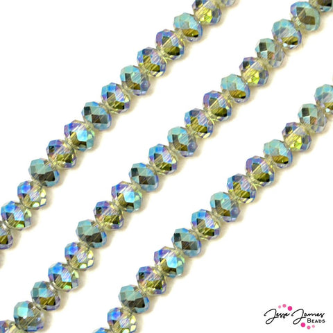 Bead Set in Sea Dragon Surge 12MM Chichi Glass