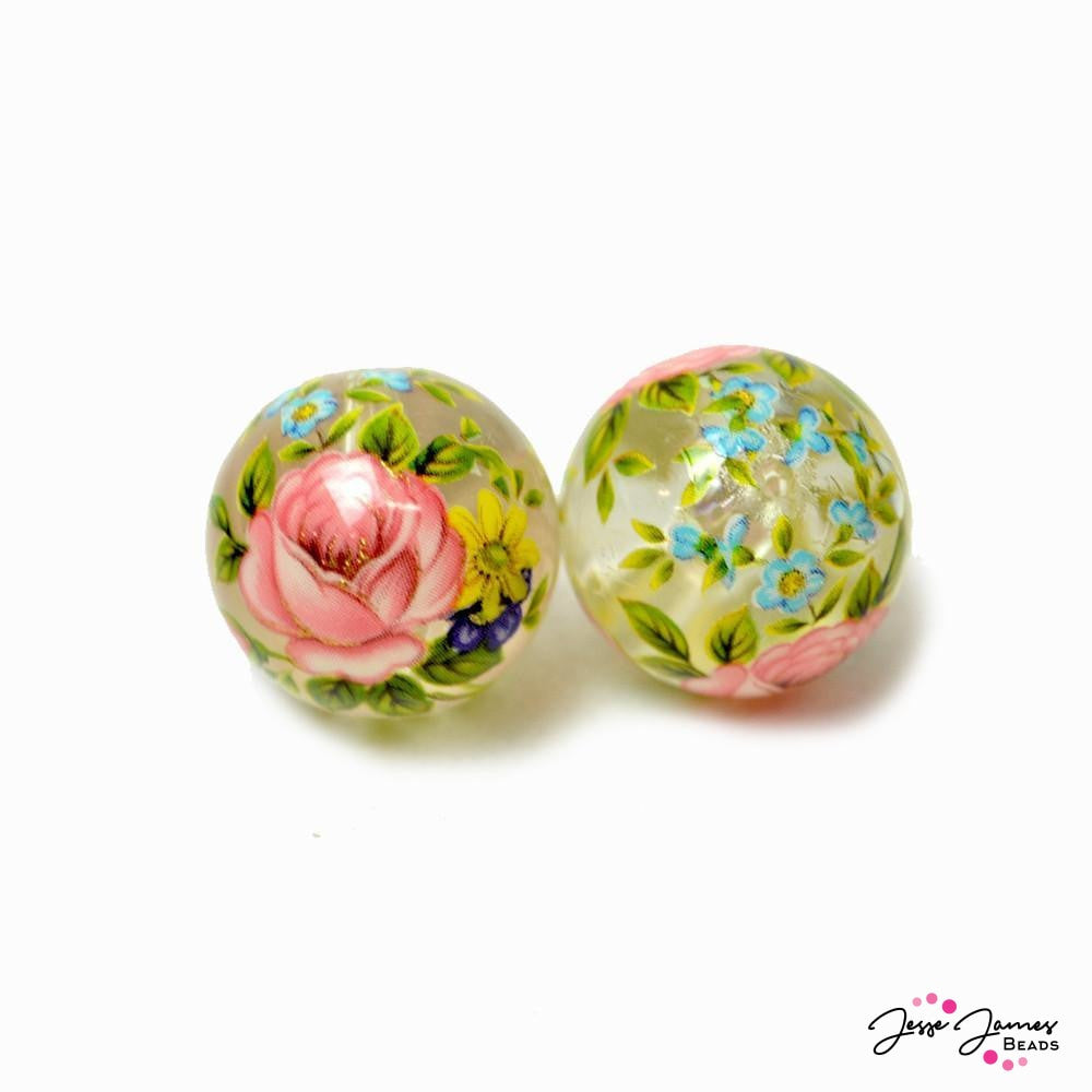 Secret Garden Japanese Tensha Beads