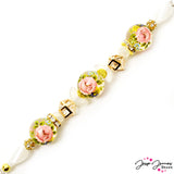 Bead Strand in Secret Garden Japanese Tensha Shorty