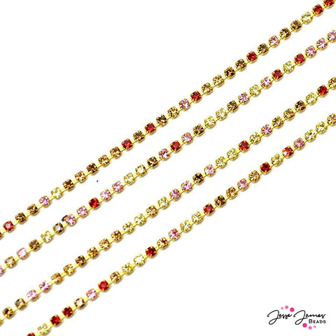 Cup Chain Preciosa Skinny Multicolored Dancing