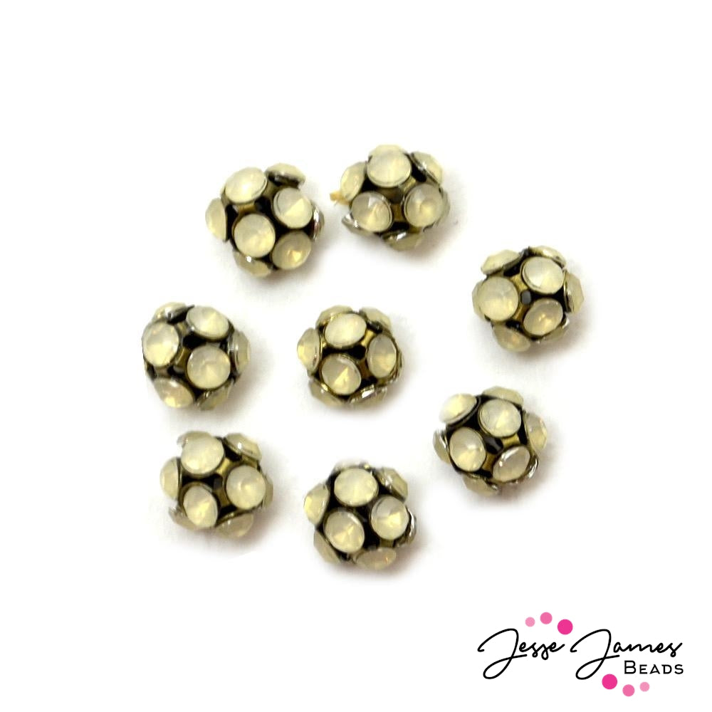 Snowball Fight Metal Bead Set